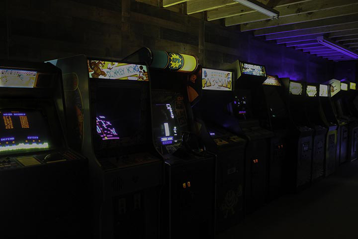 arcade game production rentals