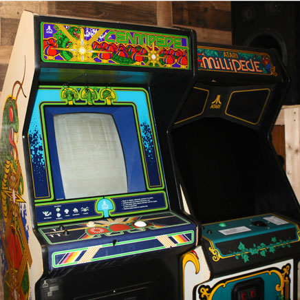 Centipede and Millipede arcade game production rentals