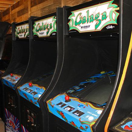 galaga video arcade games